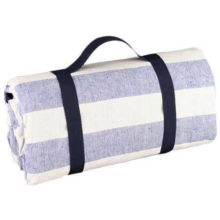 Waterproof picnic blanket blue sky and white XXL (280 x 140 cm)