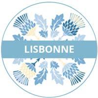 vaisselle en mélamine - thème Lisbonne