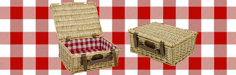 Our empty wicker basket