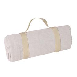 Mantel picnic beige (140 x 140 cm)
