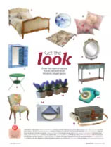 """Our """"Angers"""" picnic basket in Living France magazine"""