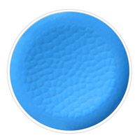 Piatto Piano Grande 27 cm in melamina quasi infrangibile – Blu. 2 pezzi