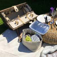 Cesta picnic redonda - 4 personas Opéra