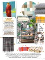 Unsere rote Gingham-Picknick-Tischdecke in der Zeitschrift Laura Wohnen Kreativ