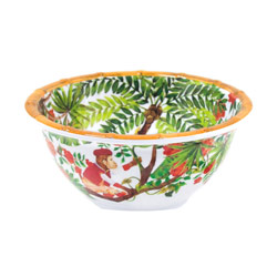 Small bowl - 100% melamine - 15 cm - Bali's Monkeys