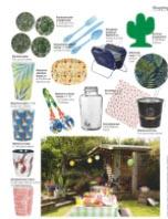 """Onze """"Tropical Birds"""" salade servers in Vrienden Special tijdschrift"""
