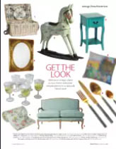 """Our """"Love"""" picnic basket in Living France magazine"""