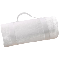 Waterproof picnic blanket white (140 x 140 cm)