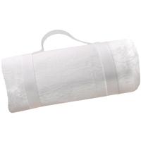 Picknickdecke wasserdicht weiß (140 x 140 cm)