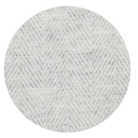 Plaid cachemire et laine Gris Argenté - Plaid léger grands chevrons - 130 x 230 cm