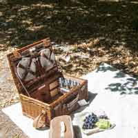 Palais Royal Picnic Hamper for 4 people