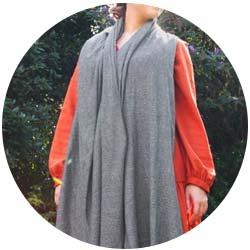Stola / Pashmina cashmere e lana 70 x 210 cm