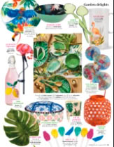 """Our """"Tropical Birds"""" plates in Prima magazine"""