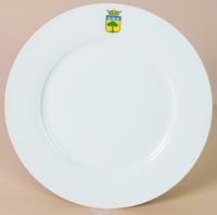 Assiette - véritable porcelaine fine - 20cm