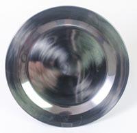 Teller aus rostfreiem Metall - 22cm