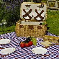 Cesta mimbre picnic Trocadéro 4 personas