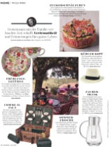 """Unser Picknickkorb """"Champs-Elysées"""" in der Zeitschrift Madame"""