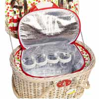 Cheverny Picnic Basket for 4 people