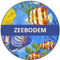 inzameling van melamine serviesgoed Zeebodem