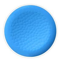 Kleiner Teller 23 cm aus reinem Melamin - Blau 2 Stück