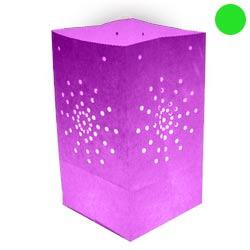 Pack de 10 lanternes de jardin Maya