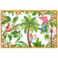 Placemat (45 x 30 cm) sets of 6 - Bali theme
