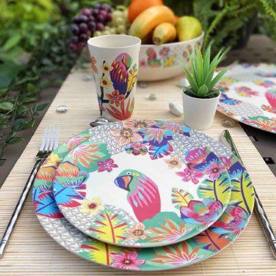 Découvrez de la vaisselle éco-responsable en fibre de bambou !