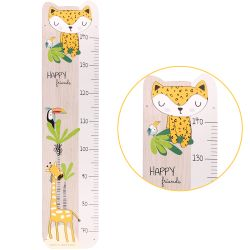 French poplar wood measuring stick Gigi the giraffe
