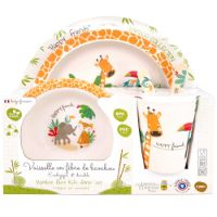 "Bamboo kid set - ""Gigi the Giraffe"""