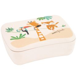 "Children's bamboo fibre lunchbox – ""Gigi the Giraffe"""