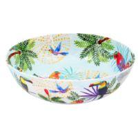 Large salad bowl in melamine  - 31cm - Toucans of Rio