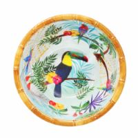 Small bowl in melamine - 15 cm - Toucans of Rio
