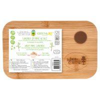 Lunchbox aus Weizenfaser mit luftdichtem Bambusdeckel