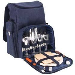 "Picnic backpack ""Escapade"" -  with bamboo plates -4 persons"