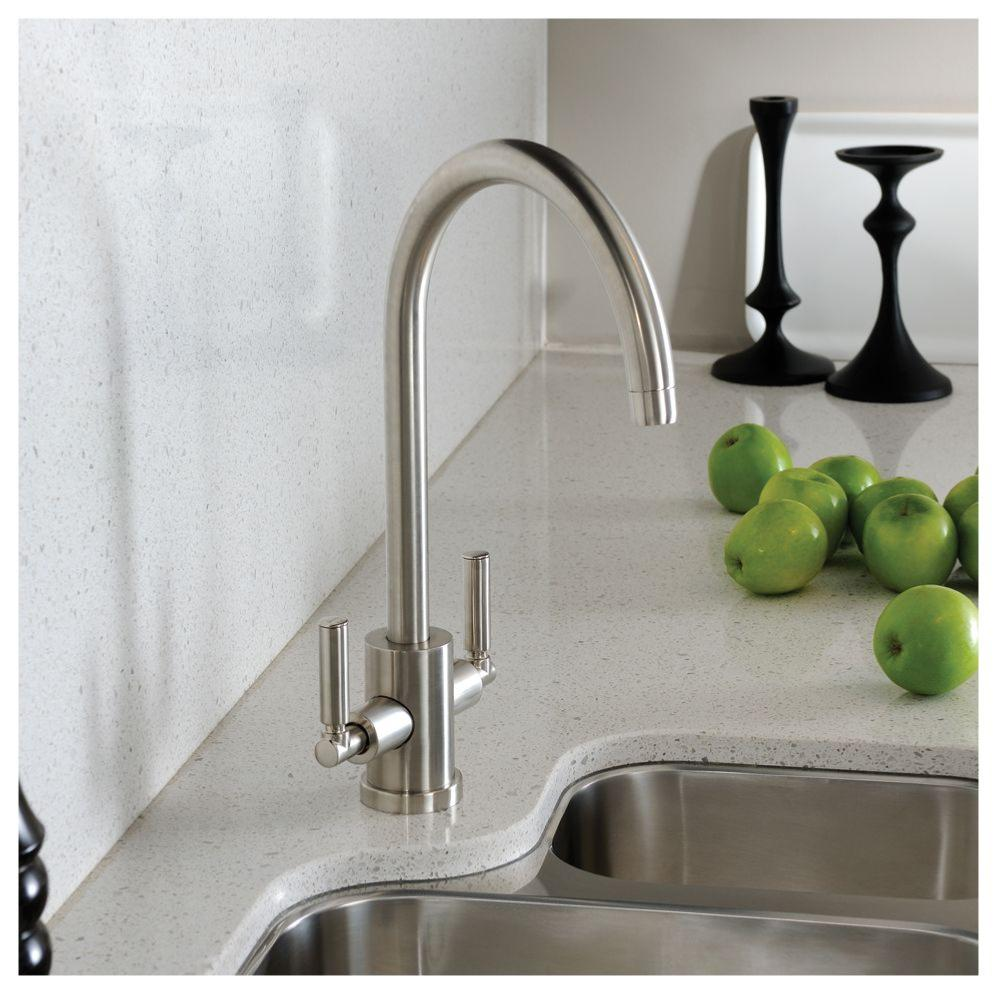Abode Aquifier Atlas 3-Way Kitchen Filter Tap Brushed Nickel
