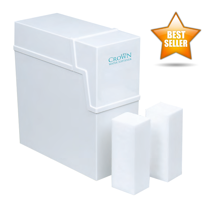 Harvey Crown Water Softener - Twin Tank / Non Electric & 15mm Installation Kit