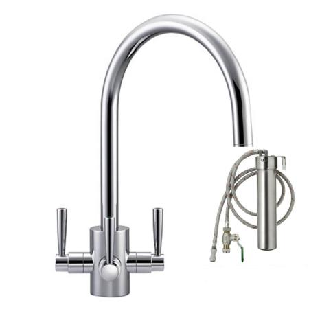 Franke Olympus Filterflow  Tap Chrome & Franke FilterFlow Water Filter