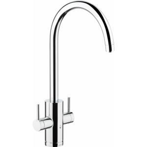 Abode Pronteau 4 in 1 Profile Monobloc Hot Water Tap Chrome