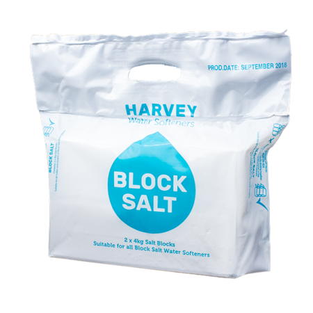 18 packs of Harvey Water Softener Block Salt