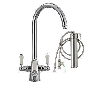 Franke Corinthian Filterflow Tap Chrome & Franke Filterflow Drinking Water System
