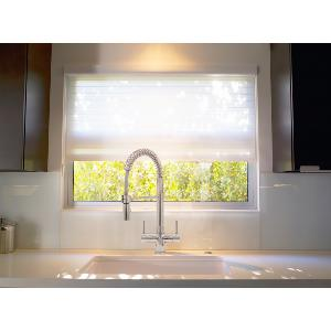 Milano Chrome Pull Down Spray 3 Lever Kitchen Filter Tap, 3 Way Tap