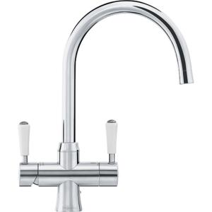 Franke Omni 4 in 1 Classic Instant Boiling Water Kettle Kitchen Tap - Stainless Steel