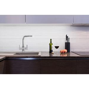 Sorrento 2 Lever 3 Way  Kitchen Filter Tap Chrome