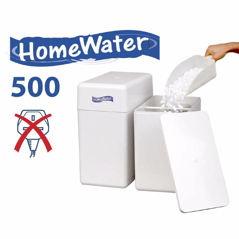 Harveys Homewater 500 Duplex Water Softener Twin Tank Non Electric