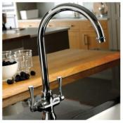 Abode Gosford Aquifier 3-Way Tap Chrome