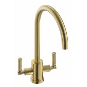 Abode Aquifier Atlas 3-Way Kitchen Water Filter Tap Brushed Brass