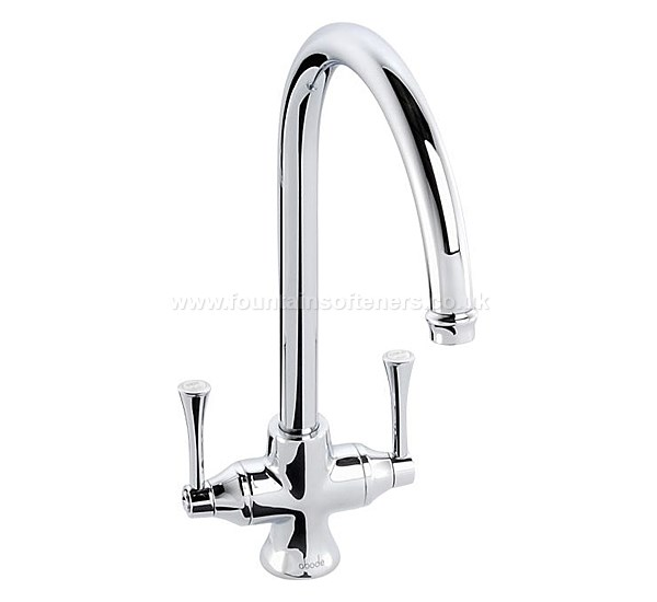 Abode Gosford Aquifier 3-Way Tap Chrome & Inline Drinking Water Filter System