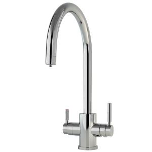 Perrin & Rowe PHOENIX 3-IN-1 INSTANT HOT SINK MIXER TAP - 1912 C Spout