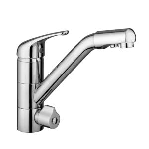 Pallas Monobloc 3 Way Tap Chrome
