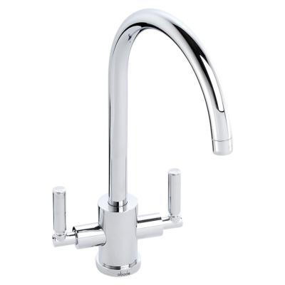 Abode Atlas Aquifier 3 Way Water Filter Kitchen Tap Chrome